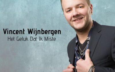 Vincent Wijnbergen lanceert 'Het Geluk Dat Ik Miste'